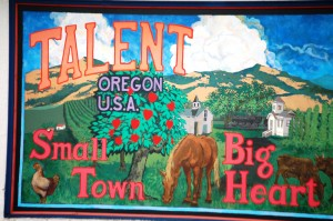 Talent Mural