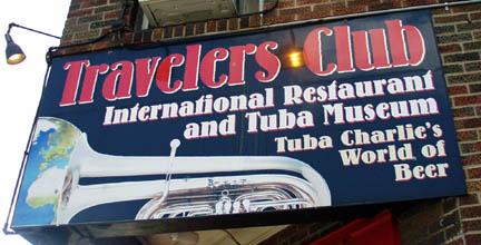 Got Tuba? — Travelers Club International Restaurant and Tuba Museum