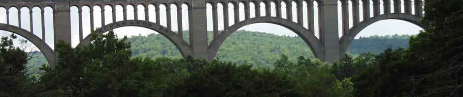 #TBT – Visiting Erie Canal, JELL-O Museum, Bethlehem, Nicholson Bridge