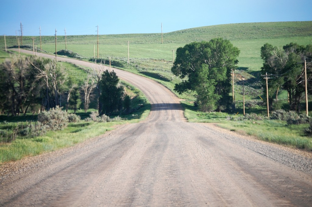 Gravel Road - Yoleta Trail Rd. east of Craig, CO