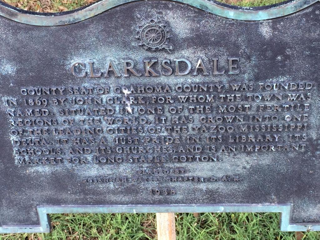 Clarksdale Monument, Clarksdale, MS