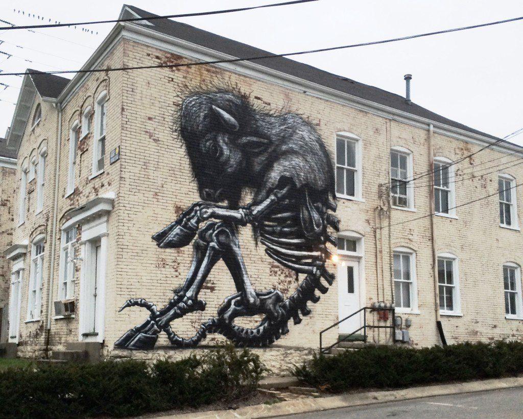 Wall Art in Lexington 2014: PRHBTN & more