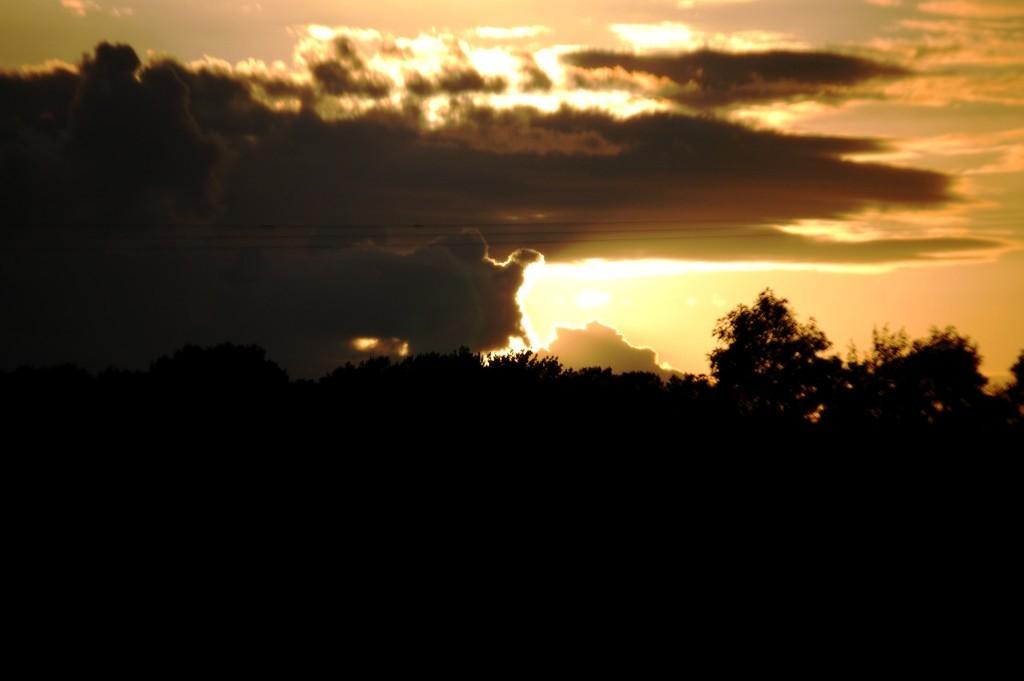 Sunset in Arkadelphia