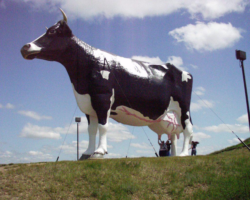 Fiberglass Giants Part II: Giant Cows, Pink Elephants and More