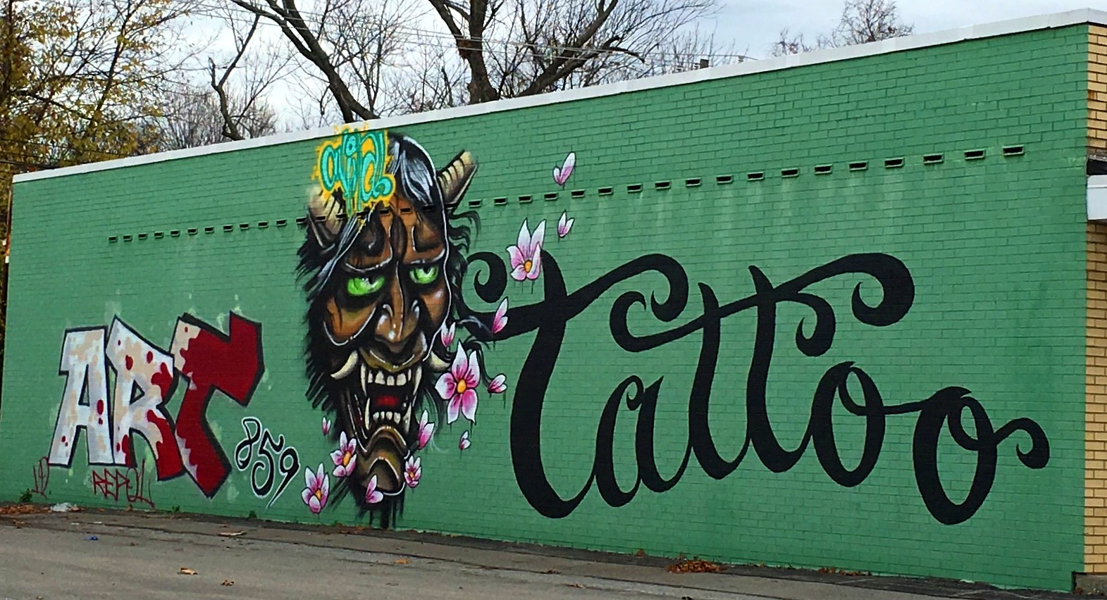 Graffiti wall tattoo - Graffiti Wall Tattoo 55