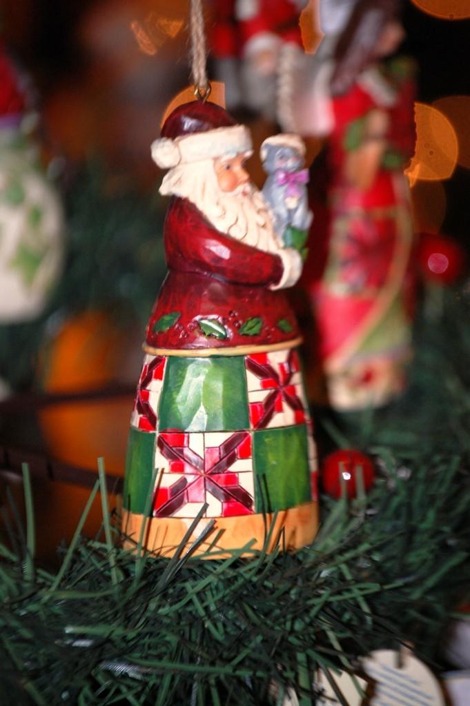 Classy Santa Ornaments