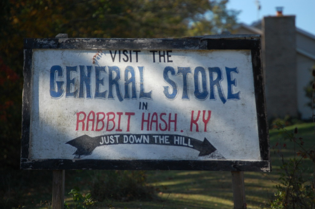 Hungry? How about a visit to Rabbit Hash?