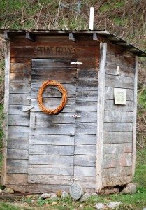 Penn's Privy - a famous outhouse!