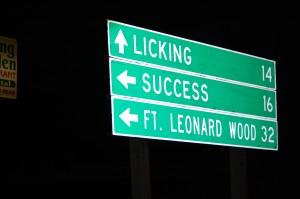 Success, Missouri direction
