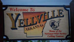 Welcome to Yellville, Arkansas