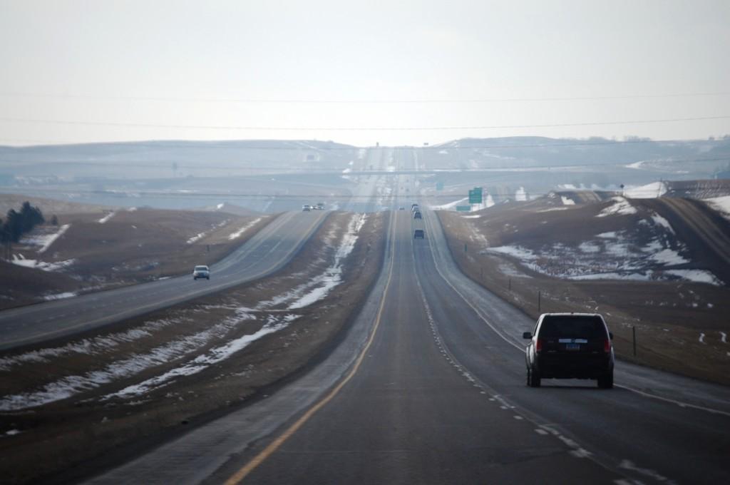 I-94 west of Bismarck, ND