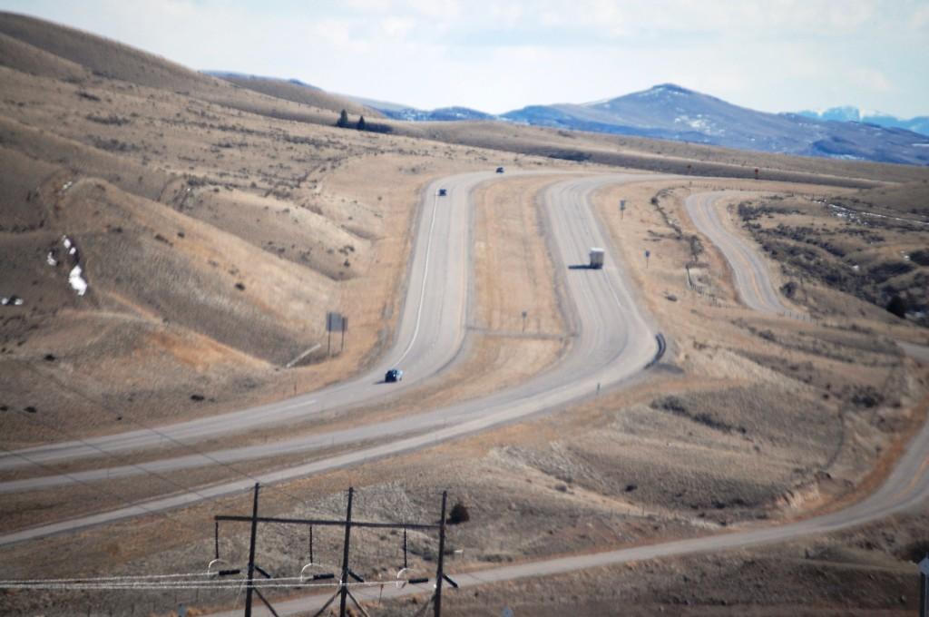 I-15 South of Divide/Wisdom, MT