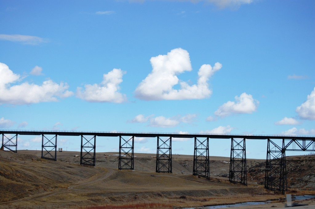 Cut Bank Creek Trestle, built in 1900