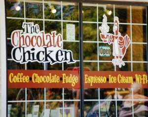 The Chocolate Chicken in Egg Harbor, WI