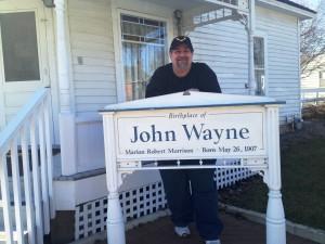 Birthplace of John Wayne, Winterset, Iowa