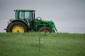 My version of a John Deere ad - outside of Tripp, SD