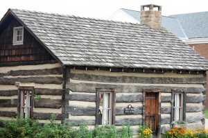 Old Log Cabin - Harmony, Pennsylvania