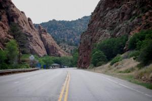 US 50 south near Cotopaxi, Colorado