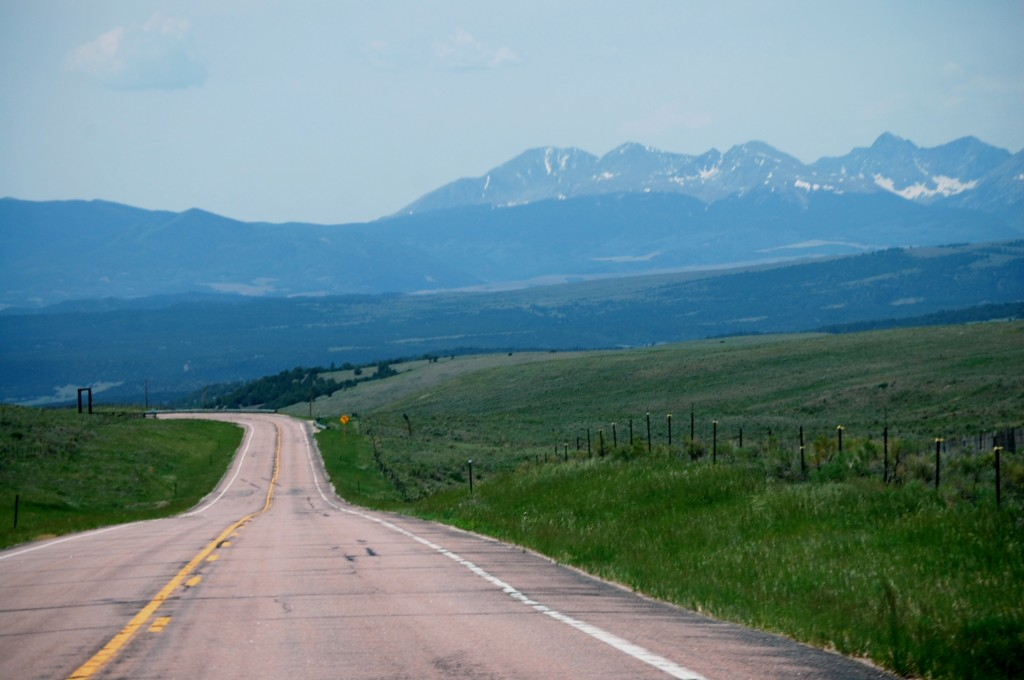 CO Hwy 69 south towards the Wet Mountains