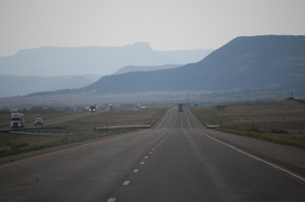 I-25 East towards Trinidad, Colorado