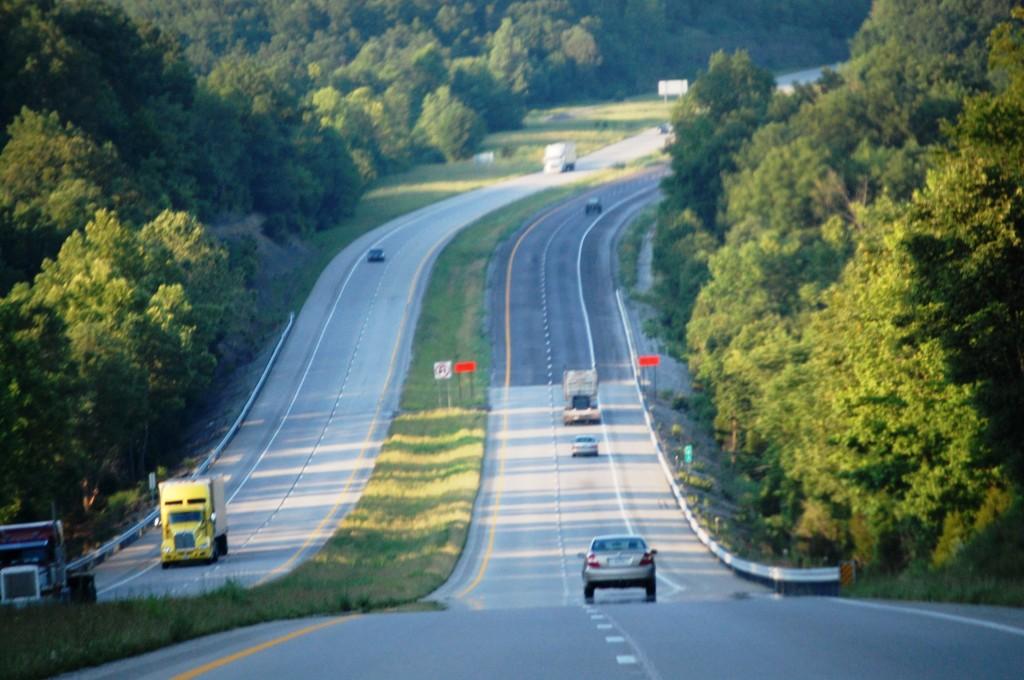Bluegrass Parkway near Bardstown, Kentucky