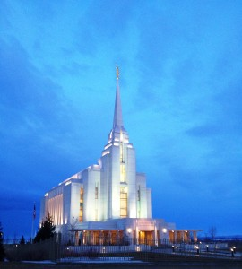 Rexburg, Idaho LDS Temple