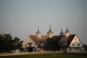 Large Horse barn on Yarnelton Rd. near Lexington