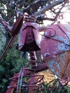 """Javelin Man"" by Larry Vennard"