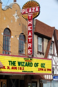 The Plaza Theatre in Glasgow, Kentucky