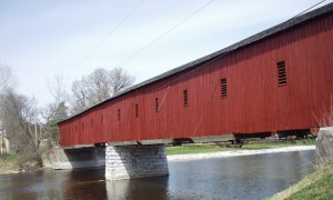 Another view of West Montrose Covered Bridge