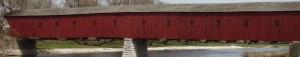 Longest Covered Bridge in Canada, West Montrose Covered Bridge, West Montrose, ON