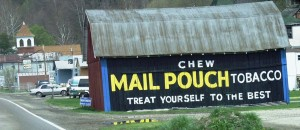 Mail Pouch Barn in Friendly, WV
