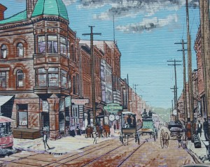 Market Street by Michael Wojczuk. This was the first mural painted in Steubenville