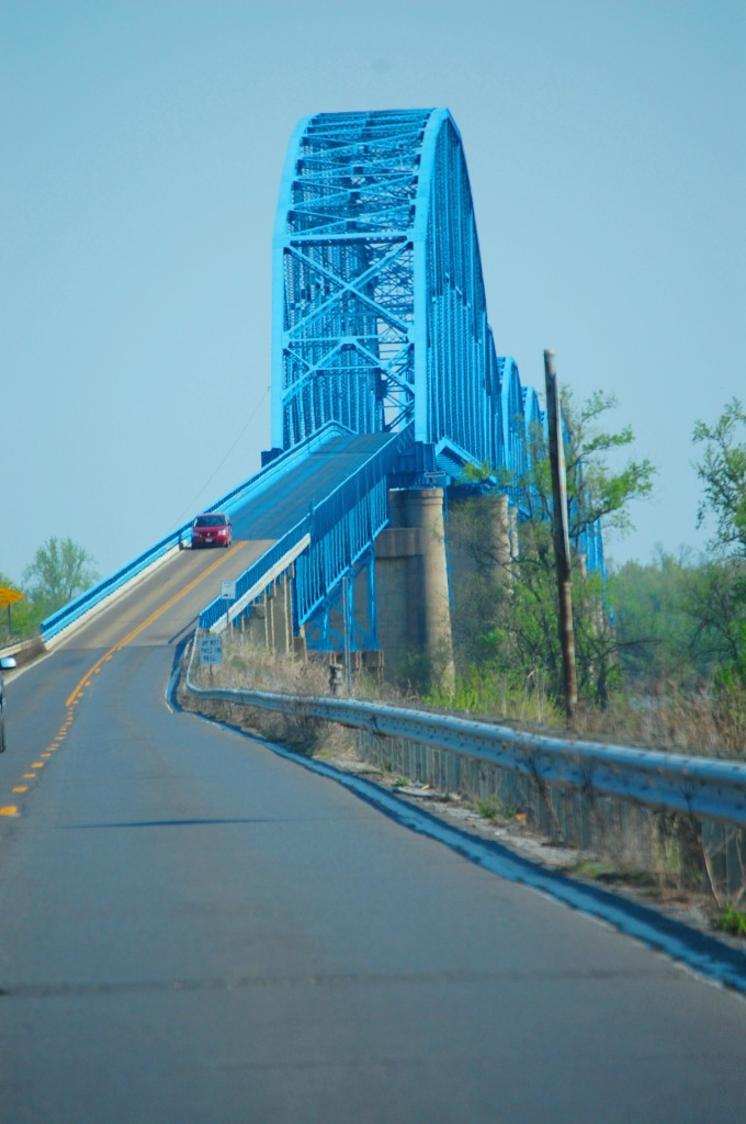 Bridge over Mississippi River at Cairo, IL