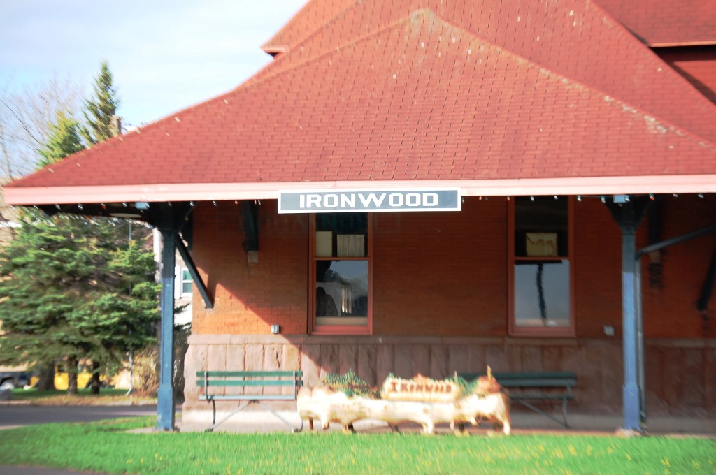 Ironwood Train Station, Ironwood, MI
