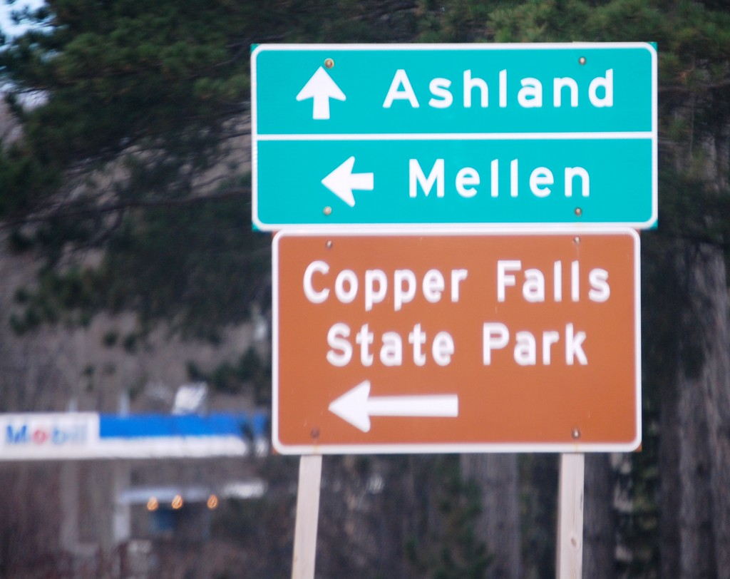 Going on a Field Trip to Copper Falls....actually, never made it