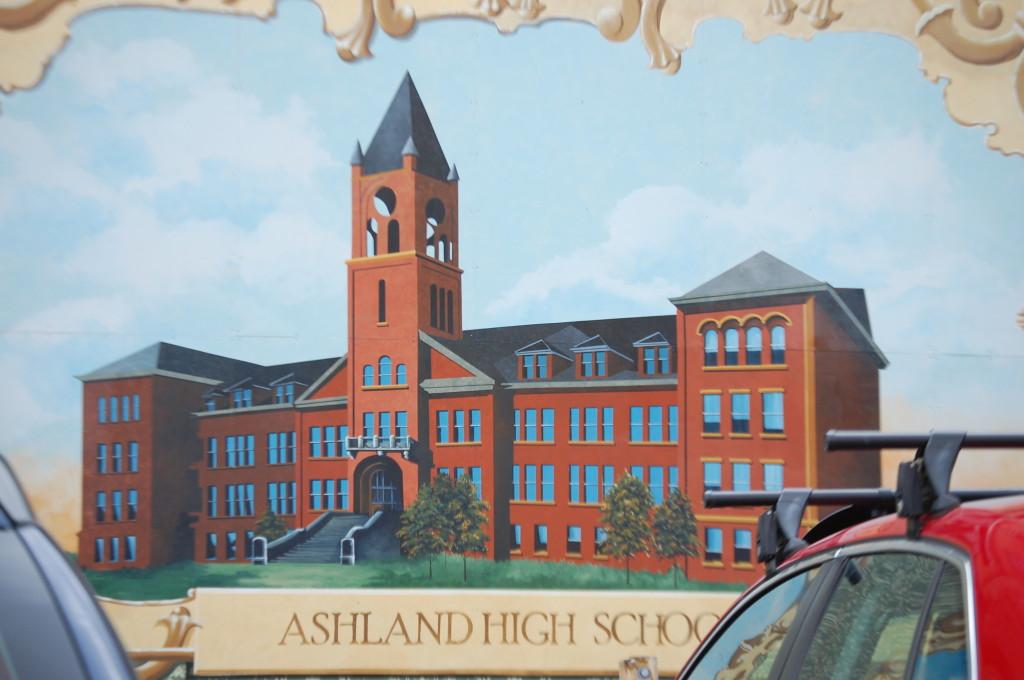 Ashland High School Mural in Ashland, WI