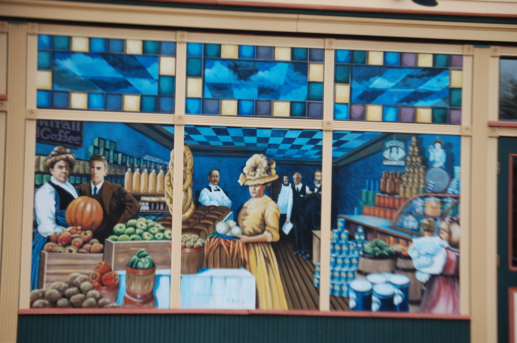 Dhooghe's Store Mural in Ashland, WI