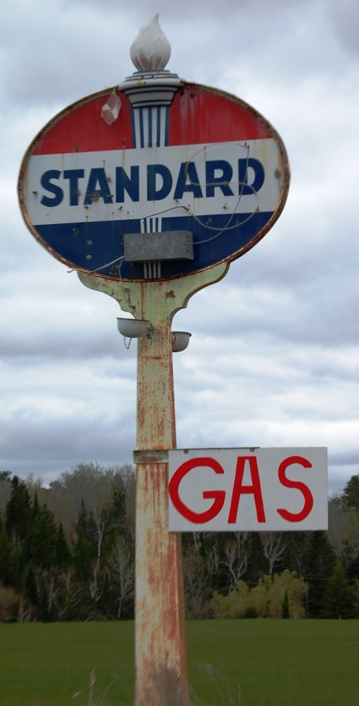 Couldn't resist the old Standard Oil sign