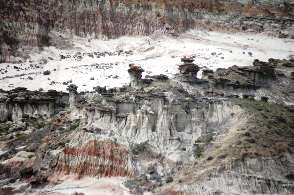 Hell's Half Acre in Wyoming