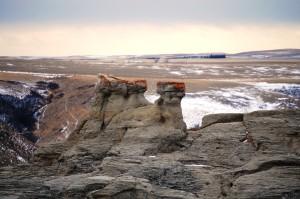 Jerusalem Rocks near Sweetgrass, Montana