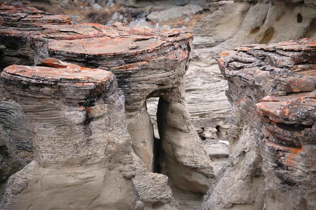 A rock window at Jerusalem Rocks