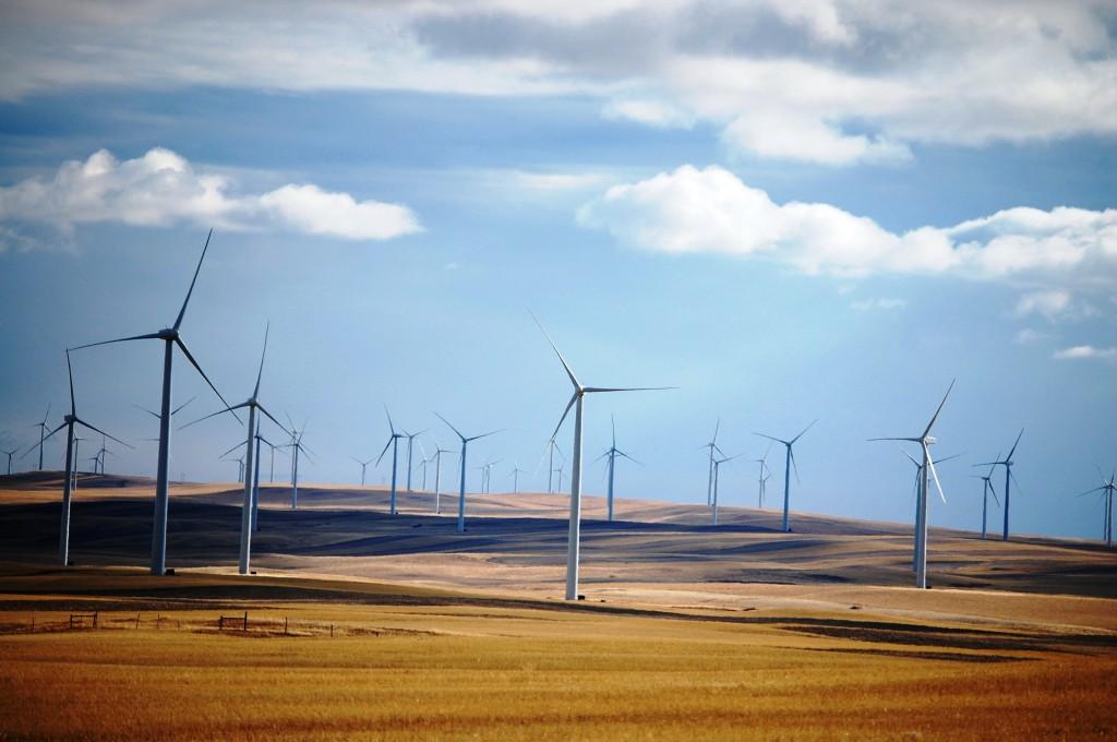 Glacier Wind Farm near Shelby, Montana