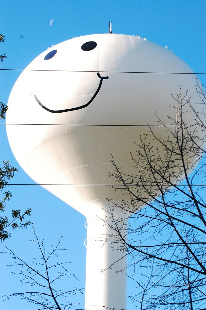 Grand Forks Smiley Water Tower