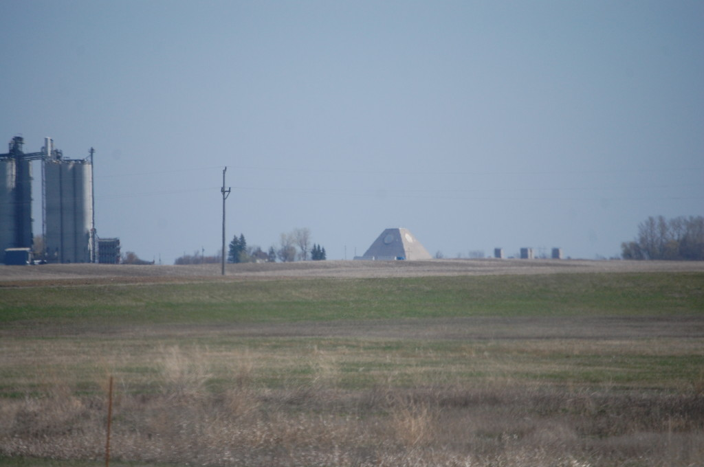 SRMSC from 2 miles south of Nekoma, ND as seen from ND Hwy 1