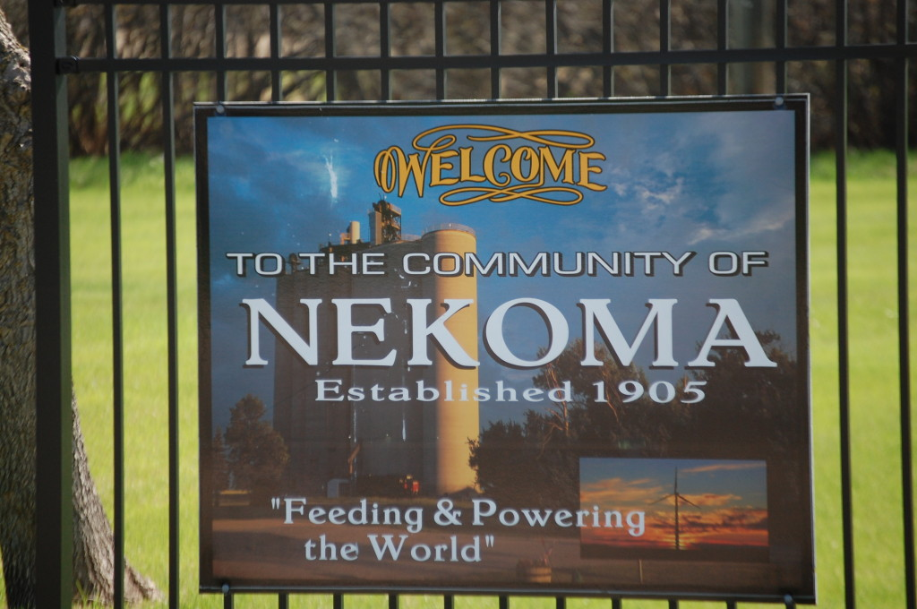 Welcome to Nekoma, ND