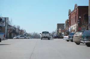 Downtown Langdon, ND