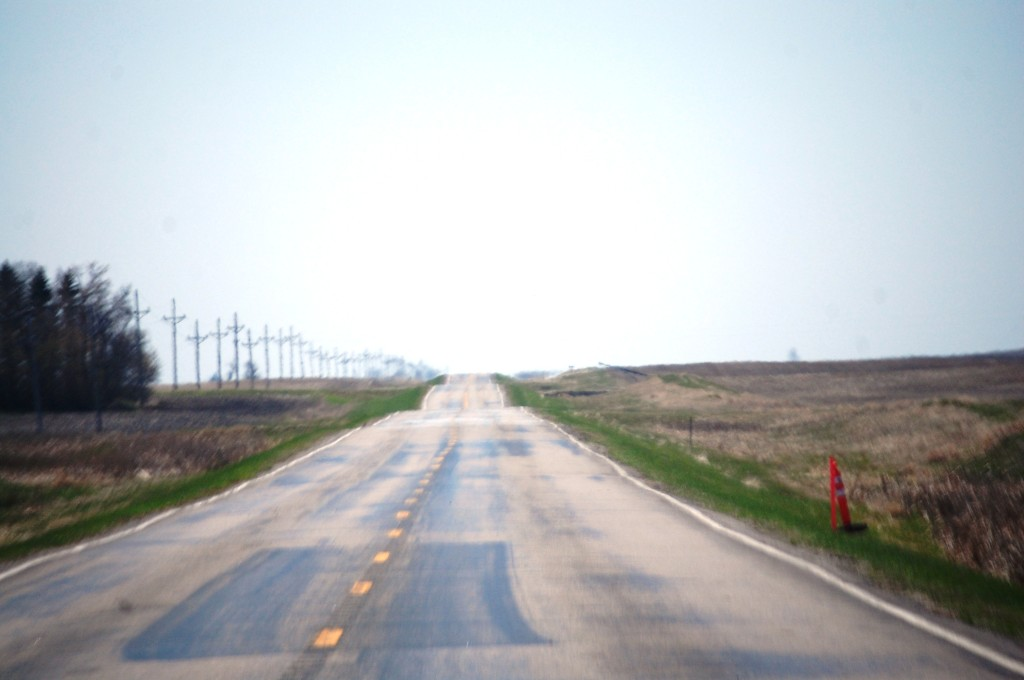 South on ND Hwy 20 south of Munich, ND