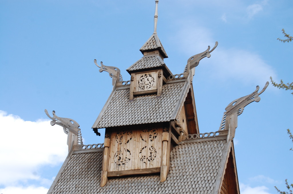 Top of the Stave Church
