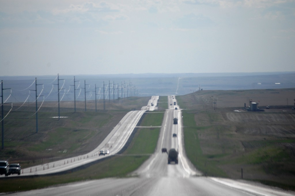 Heading west to Williston, ND on US Hwy 2